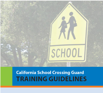 School crossing sign -  Training Guidelines